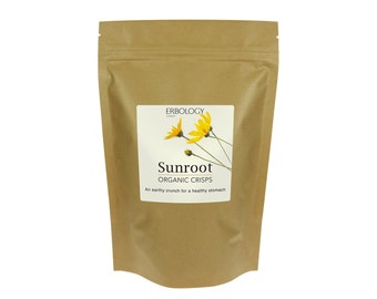 INULIN - Organic Sunchoke Chips 80g - 3 Pack - For Healthy Stomach - Jerusalem Artichoke