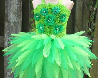 Tinkerbell costume, tinkerbell birthday, Tinkerbell tutu, Fairy tutu, fairy costume, tinkerbell party, fairy party, green costume