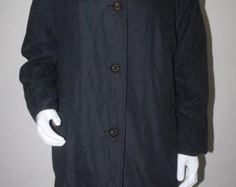 Vintage Burberrys Made In England Long Coat Jacket
