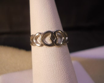 Toe Ring with Heart Design Fashion Jewelry