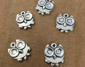 Owl night charms (10 pieces)