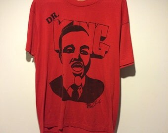 80's Martin Luther King Shirt