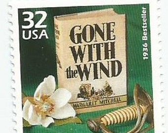 1 Gone With The Wind Mint Postage Stamp from USA