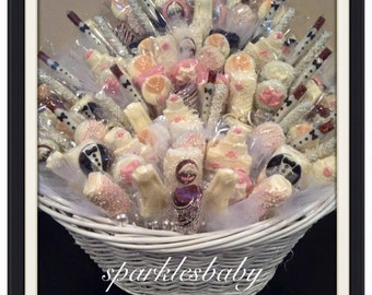 Wedding, Bridal Shower Chocolate Basket- COMMACK or CARLE PLACE pickup only