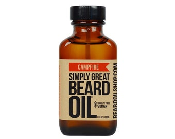 Beard Oil CAMPFIRE by Simply Great