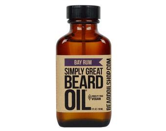 Beard Oil BAY RUM by Simply Great
