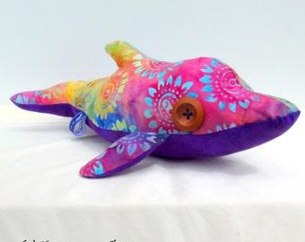 Wacky the Dolphin; Dolphin toy; Dolphin plush; plush toy