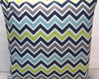 Premier Prints Zoom Zoom Slub Canal Decorative Throw Indoor Pillow Cover with Hidden Zipper