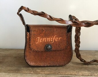 Jennifer Western Leather Purse