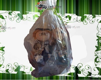 glass pot  doll