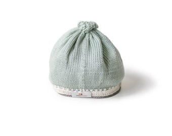 Tranquility Baby Hat: Sage