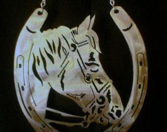 Horse and Horseshoe Wind Chime