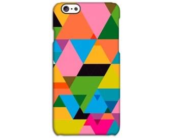 Geometric Triangle Designer iPhone Case