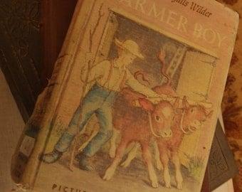 Vintage Farmer Boy Book