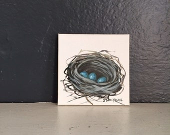 Bird's Nest Painting