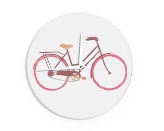 "Wall Clock - Alik Arzoumanian ""Bike"" Makes A Great Gift!"