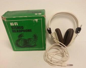 Free Shipping!! Hi-Fi Stereo Headphones WORK