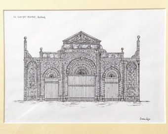 St. George's Market, Belfast Print