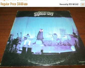 Save 30% Today Vintage 1974 Vinyl LP Record Genesis Live Very Good Condition 873