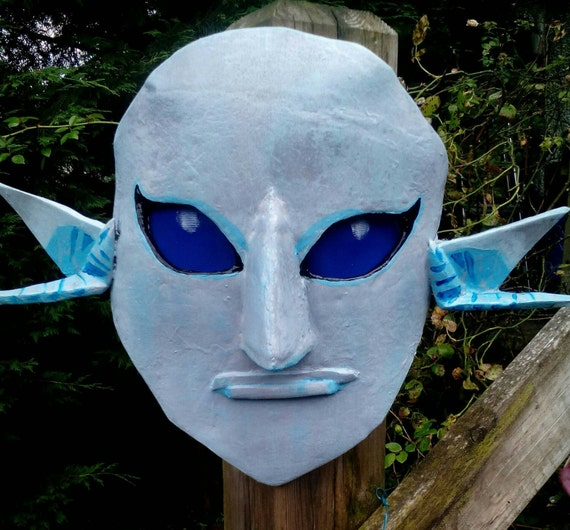 Zora mask for Cosplay. Inspired from The Legend Of Zelda.
