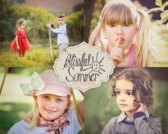 75% OFF! - Blissful Summer Collection {39 Photoshop Actions for CS5, CS6 and CC}