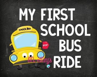 Back to School My First School Bus Ride