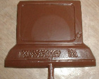 Computer Lolly Chocolate Mold