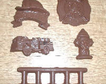 J007 Fireman/'s Hat Chocolate /& Soap Mold
