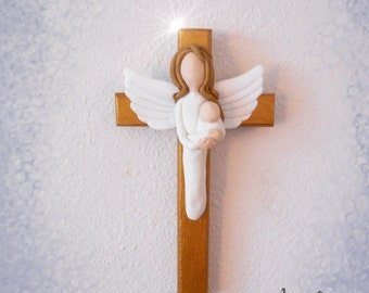 Mother and Child Angel Cross