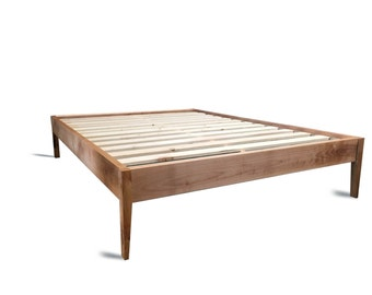 Furniture Legs For Bed platform bed frame with metal legs / modern and rustic bed /