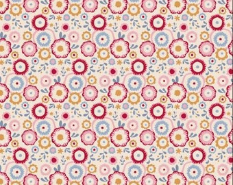 TILDA Candy Bloom - Candyflower Dove White - 1/2 yard - Limited Edition