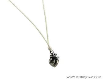 Heart Necklace Sterling Silver / Colgante Corazón plata 925