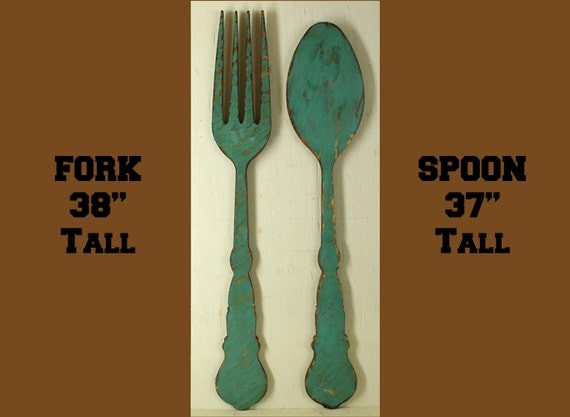 Large Fork And Spoon Large Spoon And Fork Fork And Spoon