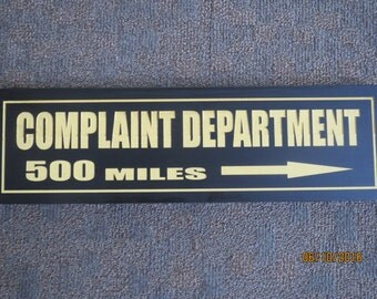 Decorative sign, Specialty sign, Funny sign, Office sign