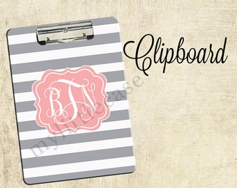Personalized Clipboard, 2-sided Clipboard, Monogrammed Clipboards, Teacher Clipboard, Back To School Accessory, Teacher Gift