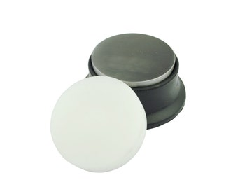 """Proops 2 in 1 Nylon & Steel 3"""" Round Bench Blocks with Rubber Base Anvil Forming (J1400). Free UK Postage."""
