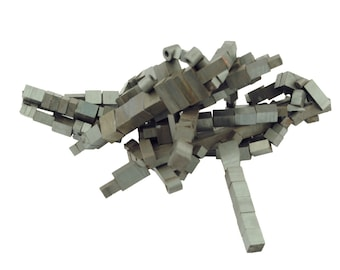 Proops Assorted Pack of Approx 100 Ferrite Magnets, 5mm squ up to 15mm (M1139) Free UK Postage