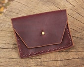 The Sugar Creek Pouch- Leather Clutch Purse, Pouch, Coin Purse - Horween Leather