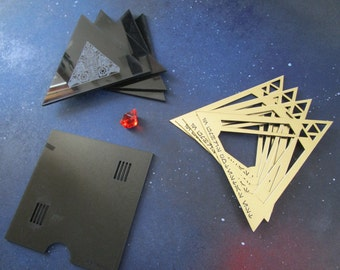 DIY Heretic Dark Force Relic Kit Gold Sith Holocron