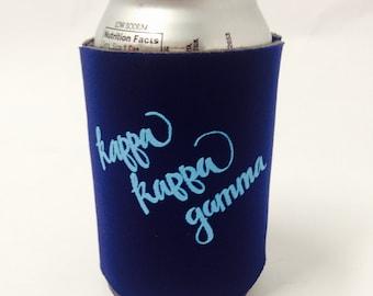 Kappa Kappa Gamma Printed Drink Huggie