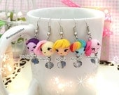 Chibi Mochi Kawaii Earrings - MLP- MADE to Order as is