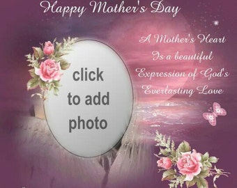 A Special Mother Day  PHOTO PILLOW