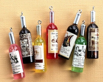 Wine Bottle Necklace