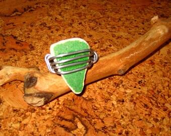 Green Tile Ring
