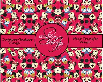 Disney Inspired Craft Vinyl and Heat Transfer Vinyl Pattern Disney 16
