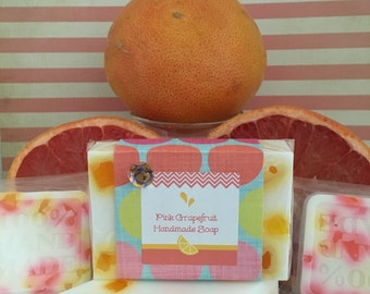 Pink Grapefruit Cafe Soaps