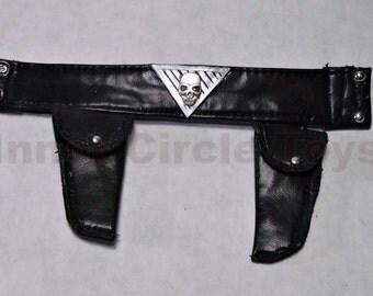 Custom 1/6th scale skull Belt