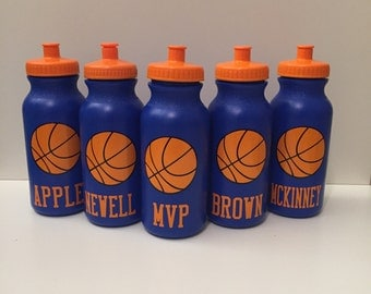 Kids Party Favor - Sports Bottles - basketball, baseball, hockey, soccer, Sports