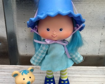 Blueberry Muffin w/Cheesecake Vintage Strawberry Shortcake Doll