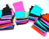 Cotton Fabric Solid Colors Destash Bundle 18